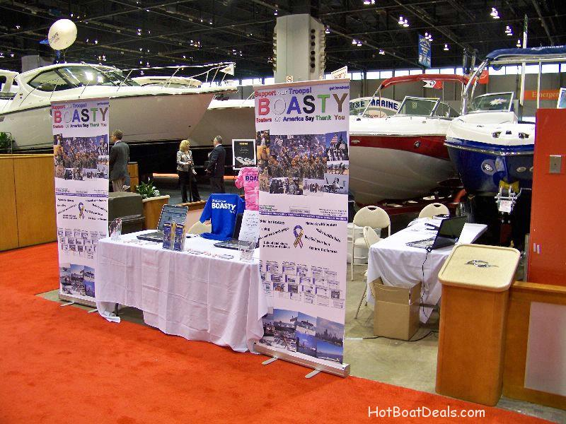 BOASTY Booth - Chicago Boat Show 2009