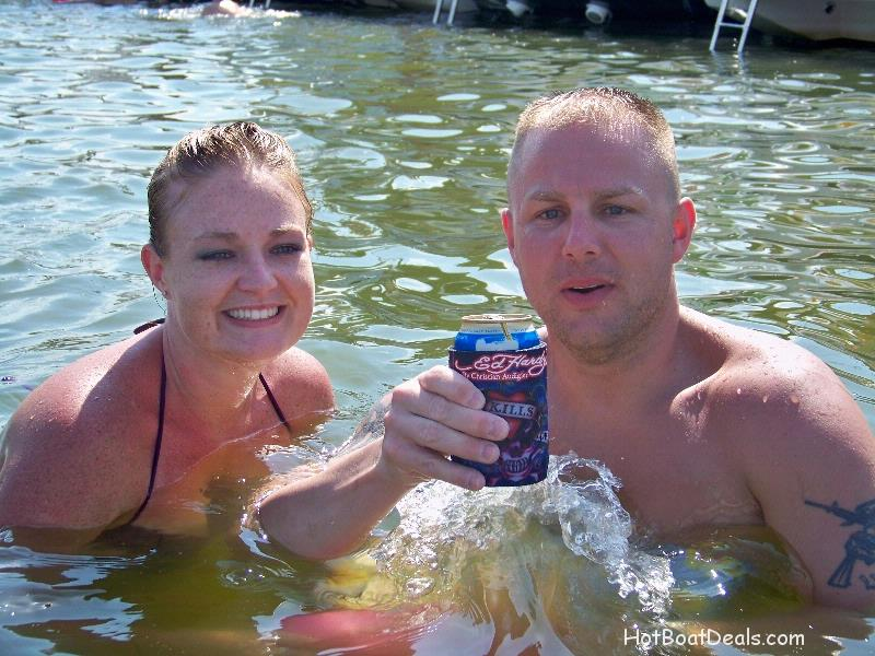 Marine Sgt. Jay LeFevere and his wife