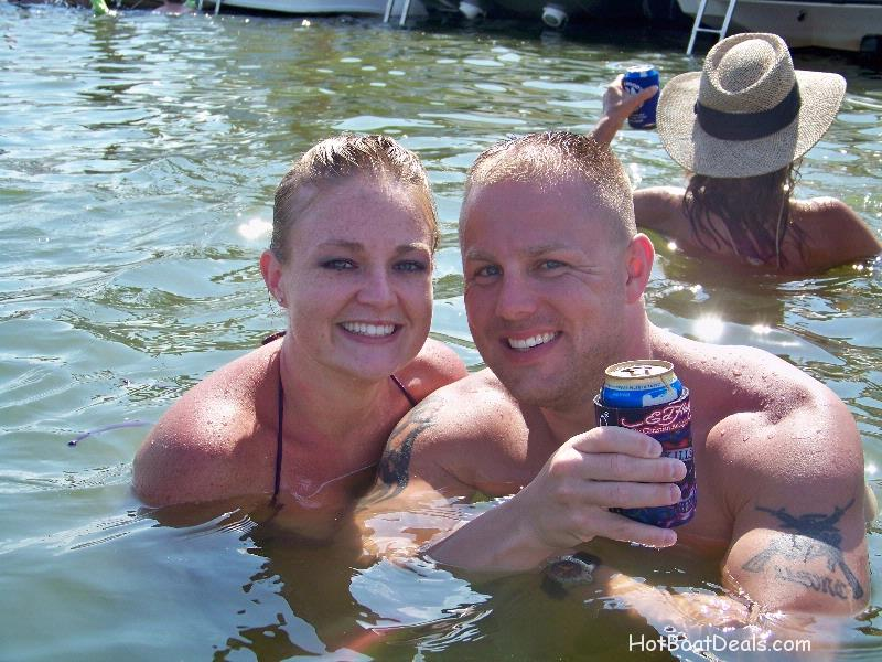 Marine Sgt. Jay LeFevere and his wife this is who BOASTY is all about!