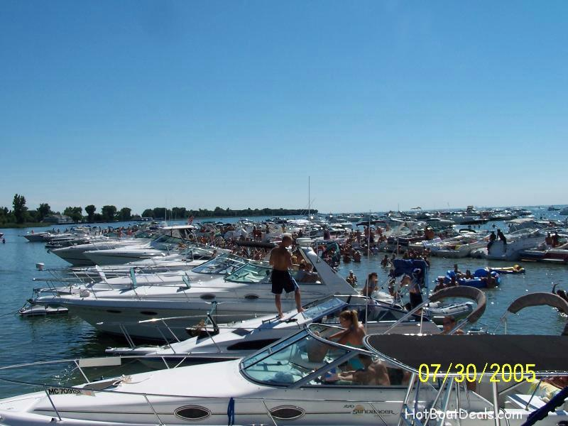 michigan party cove boat party at muscamoot bay