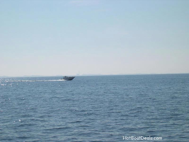 A good distance shot of our boat
